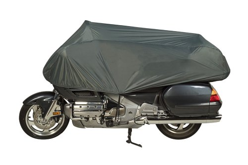 - Dowco Guardian 26014-00 Travel Ready Water Resistant Premium Motorcycle Half Cover: Grey, Cruiser and Touring