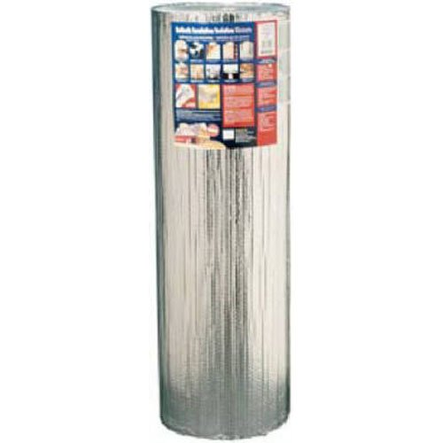 Reflectix BP48050 48-Inch-by-50-Feet Square Edge Bubble-Pack Insulation Edge Foil