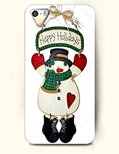 TYH - OOFIT ipod Touch4 Case - Happy Holidays Snowman Wishes For You In This New Year ending phone case