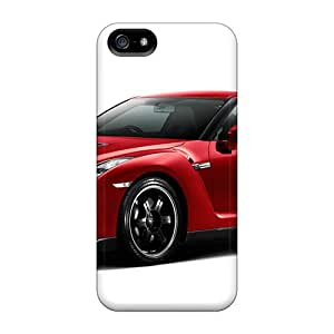 Defender Case With Nice Appearance (gtr Spev V In Red) For Iphone 5/5s