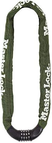 Master Lock Chain With Nylon Sleeve Combination Bike Lock