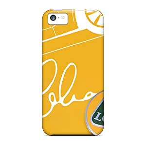 Cynthaskey Scratch-free Phone Case For Iphone 5c- Retail Packaging - Colin Chapman Wall