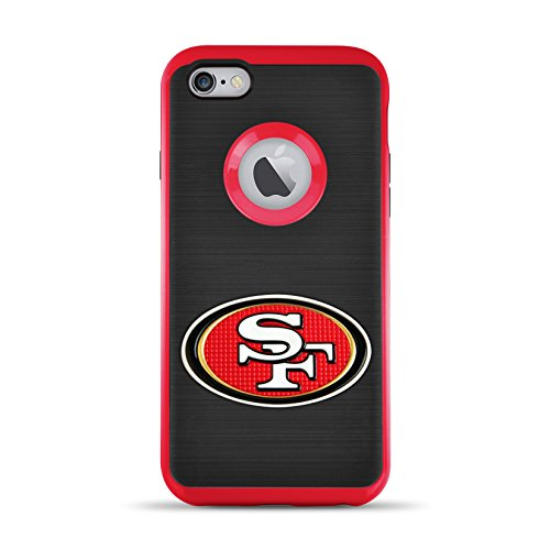 6s/6 Flex Licensed Case with 3D Steel Cut Logo - NFL San Francisco 49Ers ()