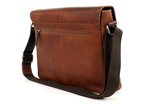bugatti Grinta Shoulder Bag Medium Cognac