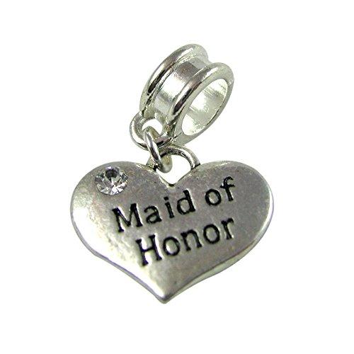 Universal Maid of Honor Charm Wedding (Maid Of Honor Charm)