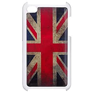 ZCL Retro Style English Flag Pattern Epoxy Hard Case for iPod Touch 4
