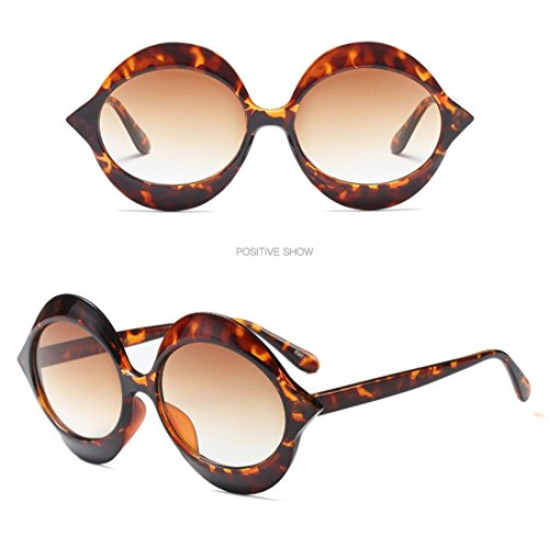 Gafas C Vintage Diseño B de Mujer Hunpta para Sol 8gxqqdA