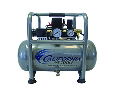 California Air Tools 2510STP Ultra Quiet and Oil-Free Air Compressor with 12-Piece Air Hose and Air Tool Kit