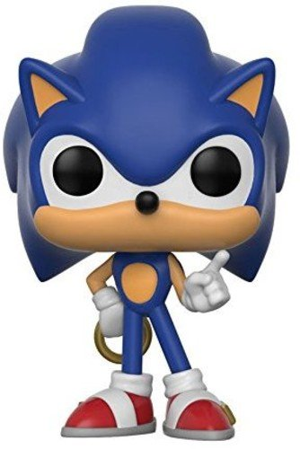 Funko Pop Games Sonic with Ring Collectible Toy