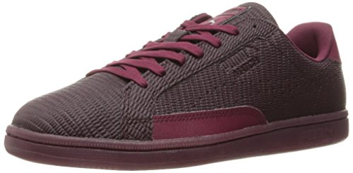 Maschile Match Emboss Lthr Fashion Sneaker, Winetasting / Red Plum, 9.5 M US