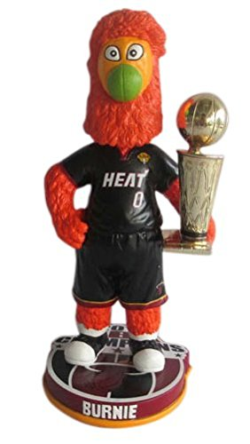 Burnie Mascot Miami Heat NBA Championship Bobblehead by Forever Collectibles