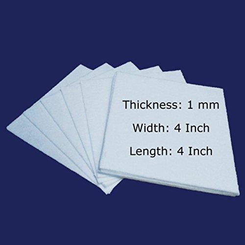 Ceramic Fiber Paper 2300 F 3 mm Thick 6 Inch x 24 Inch