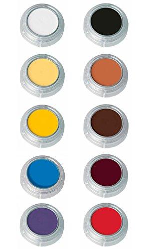 Grimas Creme Make-Up 101 Black 2.5ml