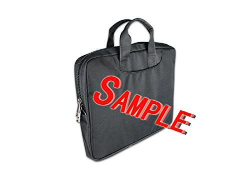 DongMen wasserdichte Gewebe Schulter Messenger Laptop Tasche f¨¹r 11 Zoll Macbook Air / Notebbook Custom Design B