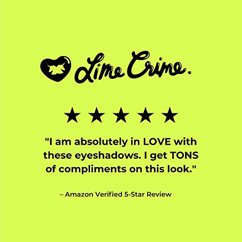 Lime Crime Venus Eyeshadow Palette – 8 Full Sized Matte and Metallic Eyeshadows – Grunge-Inspired Shades, Unconventional…