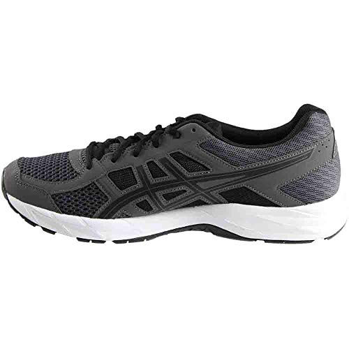 ASICS Mens Gel-Contend 4 Running Shoe Dark Grey/Black/Carbon 7 Medium US by ASICS (Image #3)
