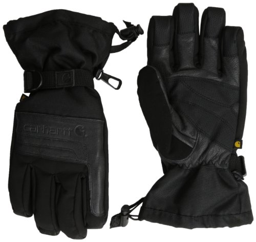 Carhartt Men's Cold Snap Insulated Work Glove, Black, Small