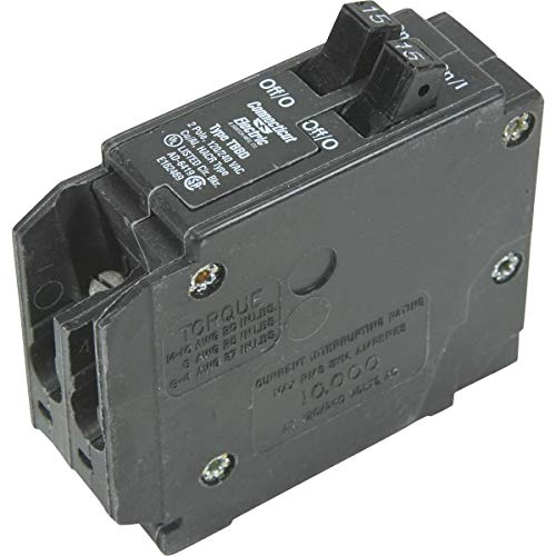 Interchangeable Circuit Breaker Packaged (Connecticut Electric Interchangeable Packaged Circuit Breaker - VPKICBQ1515 Pack of 2)