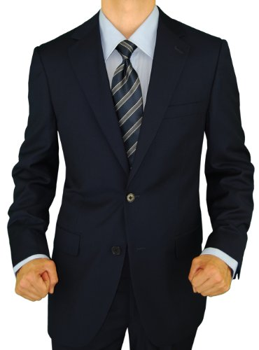 Presidential Giorgio Napoli Blazer 2 Button Mens Business Suit Separates Jacket