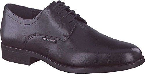 Mephisto Mens Cooper Oxford Black Carnaby q90MJ7
