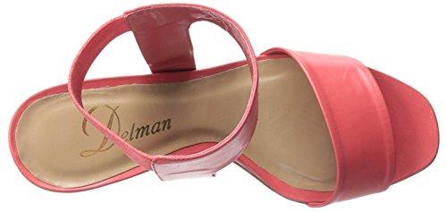 Delman Abbie Donna US 8 Rosa Sandalo