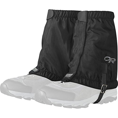 Outdoor Research Rocky Mountain Low Gaiters, Black, Small/Medium