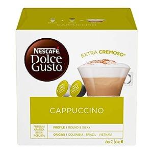 Nescafé Dolce Gusto Cappuccino, 16 Capsule (8 Tazze)