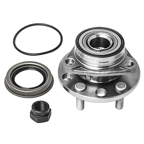 Front Wheel Hub and Bearing Assembly Left or Right Compatible Buick Skylark Chevrolet Beretta Cavalier Olds Firenza Pontiac Grand Am Sunbird Sunfire Grand Am AUQDD 513017 [ 513017K 5 Lug ]