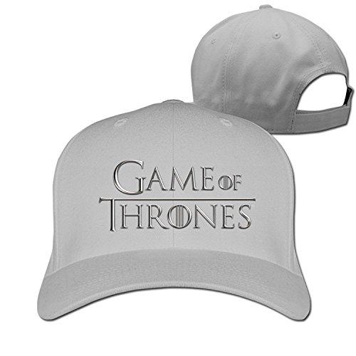 Unisex Game Of Thrones Fashion 100% Cotton Adjustable Baseball Cap - Adjustable Game Cap