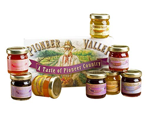 - Pioneer Valley Souvenir Boxed Gourmet Jam & Jelly Sampler Gift Set