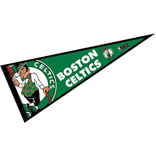 "WinCraft Boston Celtics Pennant Full Size 12"" X 30"""