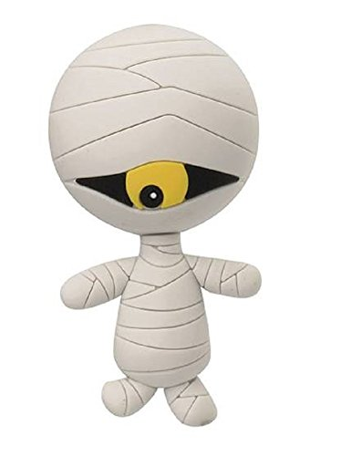 NBX Nightmare Before Christmas Series 2 3-D Figural Key Chain ~ Mummy Keyring (Opened to Identify)