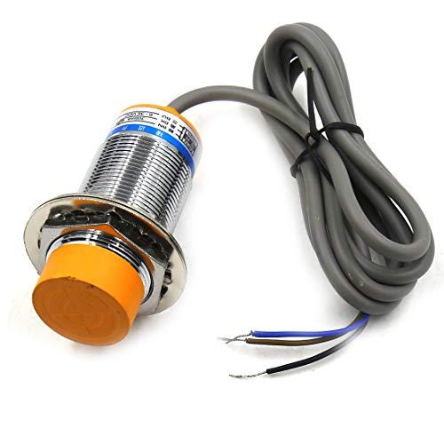 TOUHIA 25mm LJ30A3-15-Z/B Capacitance Proximity Sensor Switch Detector NPN NO DC 6-36V 300mA 3-Wir(1PCS)