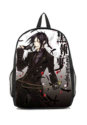 Dreamcosplay Anime Black Butler Sebastian New Backpack Student Bag Cosplay