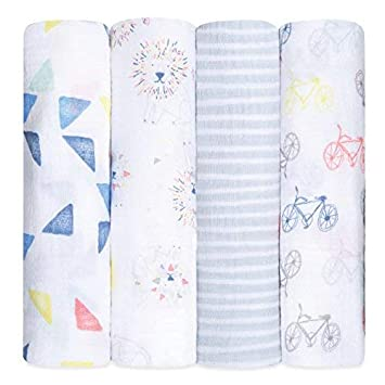 Blanket & Swaddling Versatile Newborn Baby Soft Floral Bedding Swaddle Blanket Bath Towel With Hat Cap Set Must-have Baby Swaddle Sufficient Supply Mother & Kids