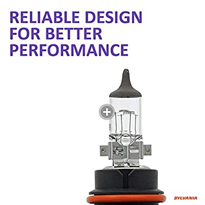 SYLVANIA - 9004 XtraVision - High Performance Halogen Headlight Bulb, High Beam, Low Beam and Fog Replacement Bulb (Contains 2 Bulbs): Automotive