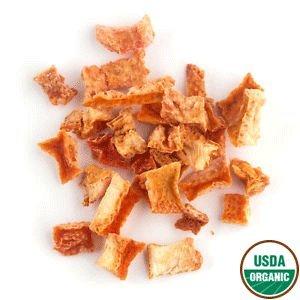 Grated Orange Peel - Organic Orange Peel - Dried Orange Peel - Small Cut from California (4 oz)