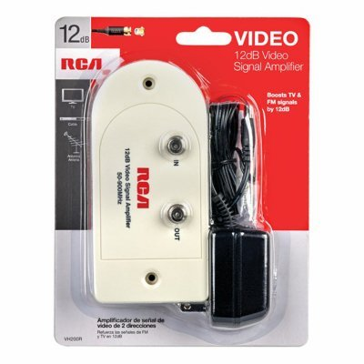 Rca Antenna Amplifier Vhf/Uhf/Fm