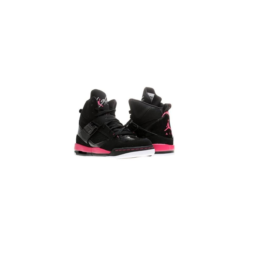 Nike Air Jordan Flight 45 High (GS) Girls Basketball Shoes 524864 017 Black 7 M US
