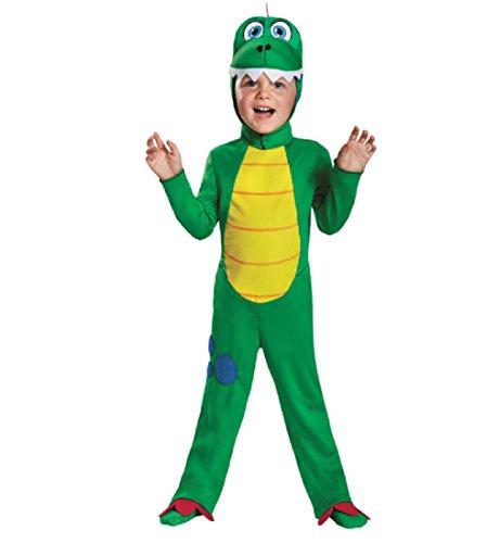 [Disguise 83994M Dinosaur Toddler Costume, Medium (3T-4T)] (Original Toddler Halloween Costumes)