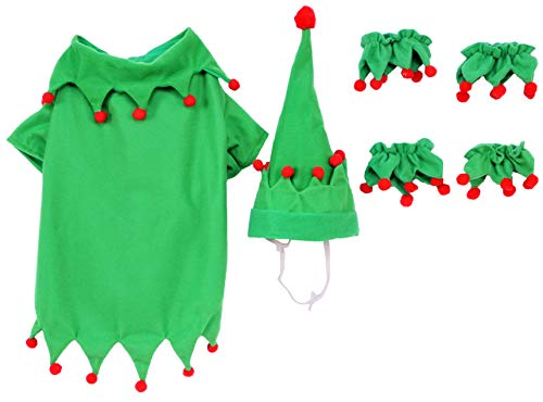 Elf Pet Costume, Medium by Rubie's (Image #1)