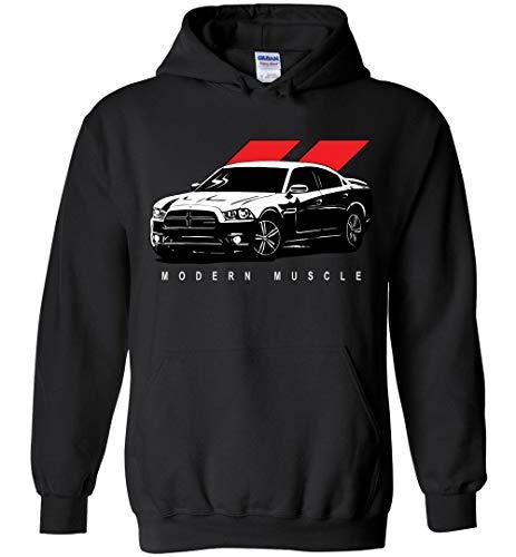 2010-2014 Dodge Charger Hoodie Sweatshirt... Black