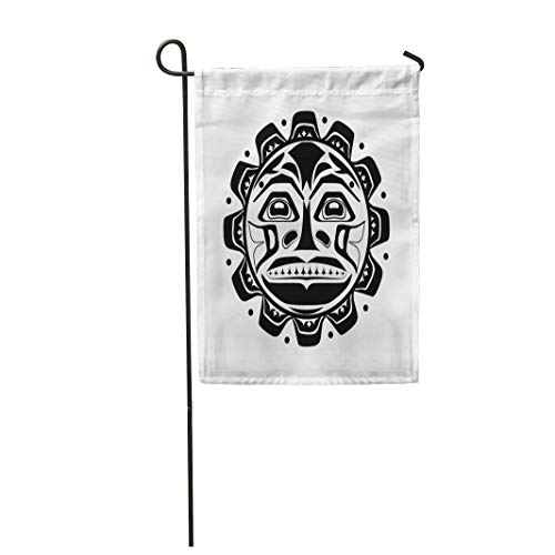 Semtomn Garden Flag Northwest of The Sun Symbol Aboriginal Canada Haida Indian 12