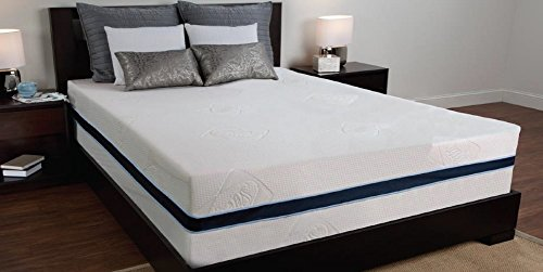 Sealy 12 3 lb Density Memory Foam Bed Mattress w/ Removable