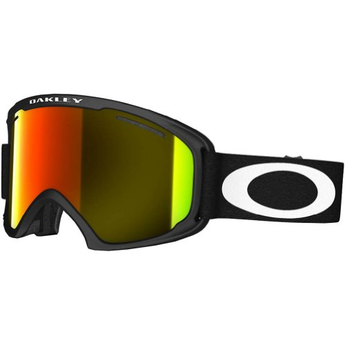 Oakley O2 XL Sunglasses, Matte Black, Fire - Oakley Store Sunglasses