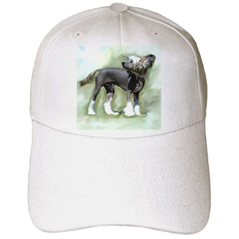 Hairless Chinese Crested - Dogs Chinese Crested Hairless - Chinese Crested - Caps - Adult Baseball Cap (cap_4254_1)