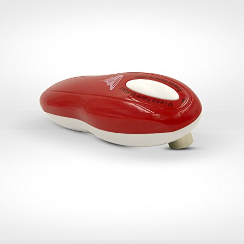Tornado Can Opener - Hands-Free (Red)
