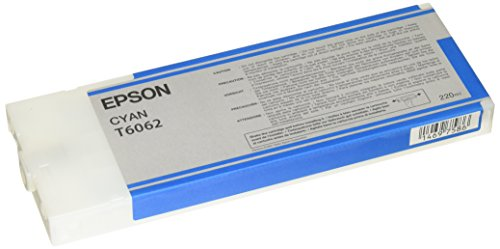 Epson UltraChrome K3 Ink Cartridge - 220ml Cyan (T606200) (Ml Ink 220 Cyan)