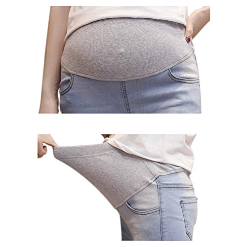 Mom de Meijunter Maigre lastiques maternit Style Jean Pantalon Leggings Femmes 7 URwA6q1