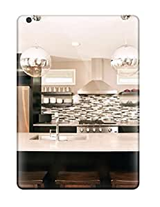 Anti-scratch And Shatterproof Eat-in Kitchen Island With Globe Pendant Lights Phone Case For Ipad Air/ High Quality Tpu Case